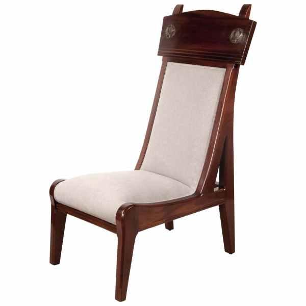 Single Chair by Leon Jallot Art Nouveau, France, circa 1906