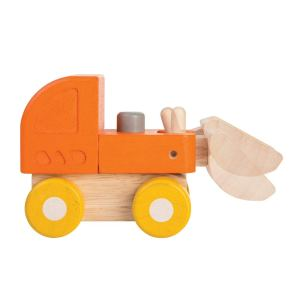 Amazon Basics Wooden Toy Truck Set
