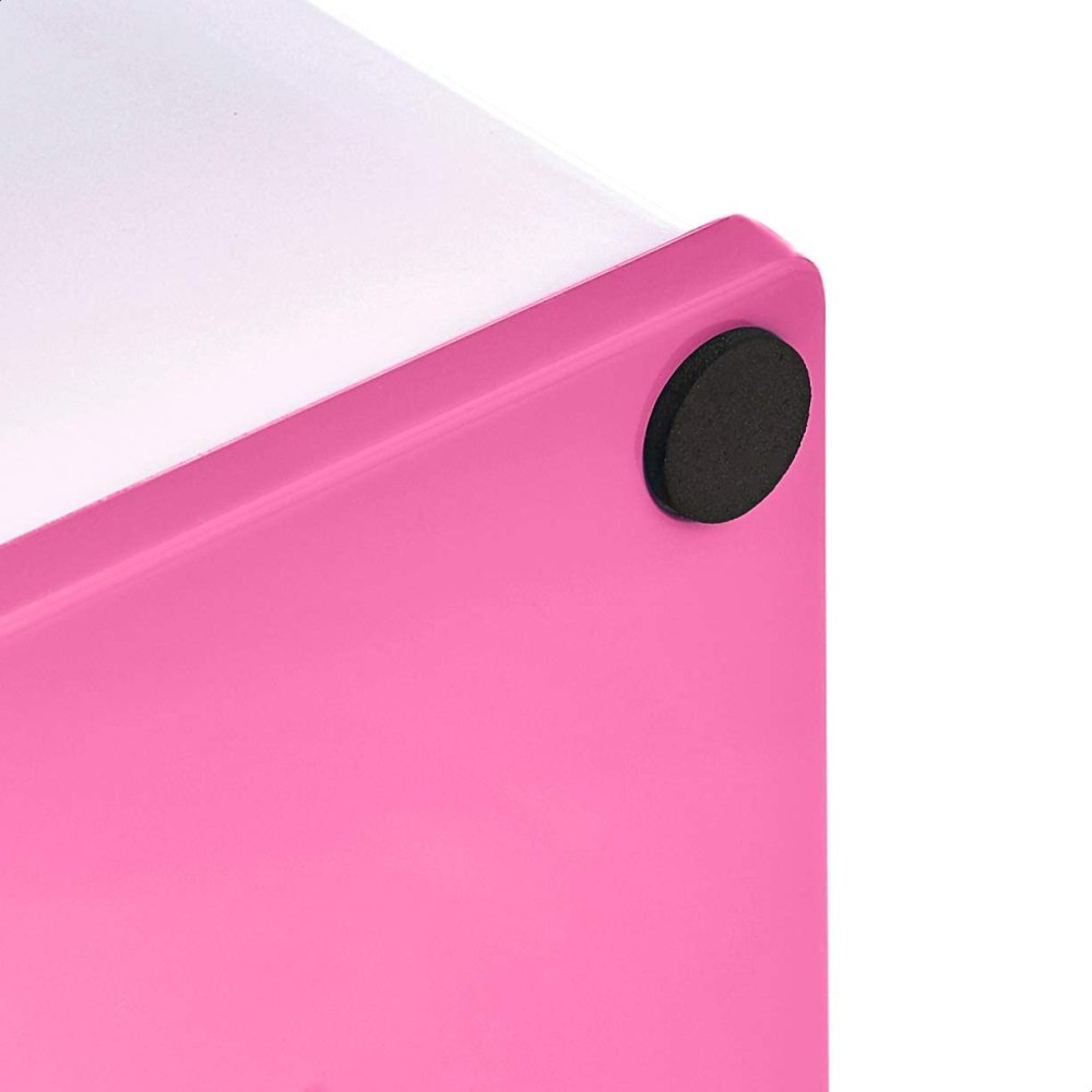 Amazon Basics Pen Organizer - Pink and White