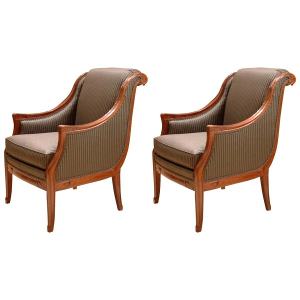 Pair of Armchairs designed by Leon Jallot