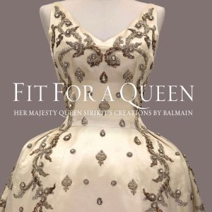 Fit for a Queen book cover art work
