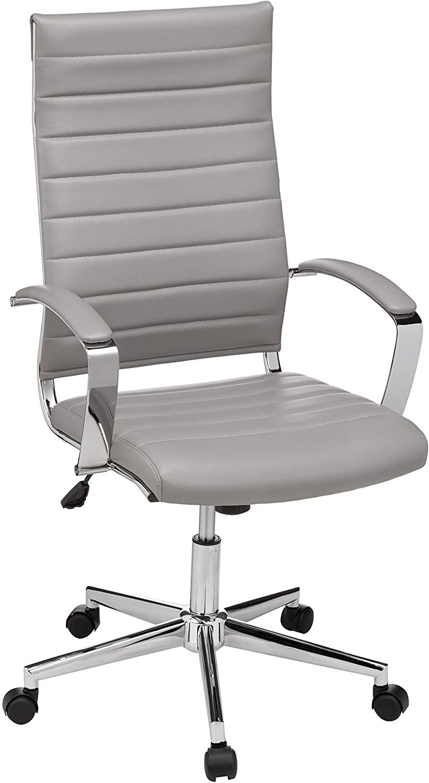 Amazon Basics High-Back Executive Swivel Office Desk Chair