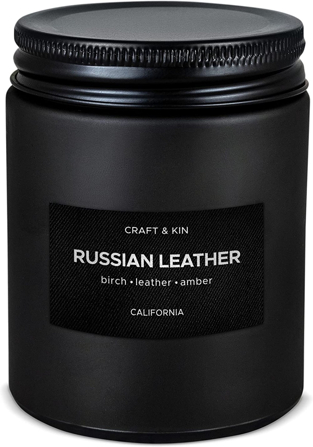 Russian Leather Scented Candle