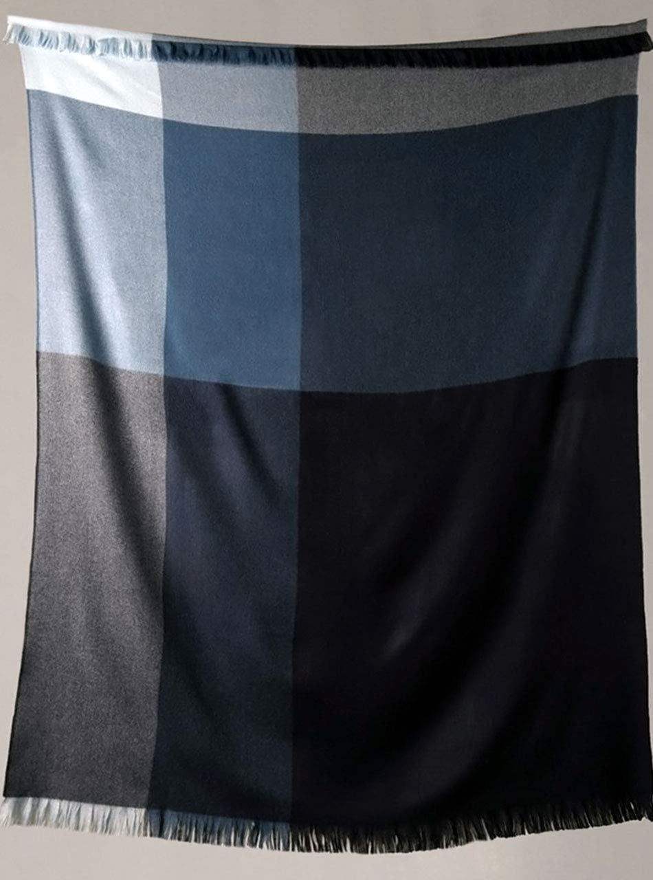 Alpaca Home   Color Block Throw Blanket   60% Premium Baby Alpaca, 30% Merino Wool, 10% Cashmere
