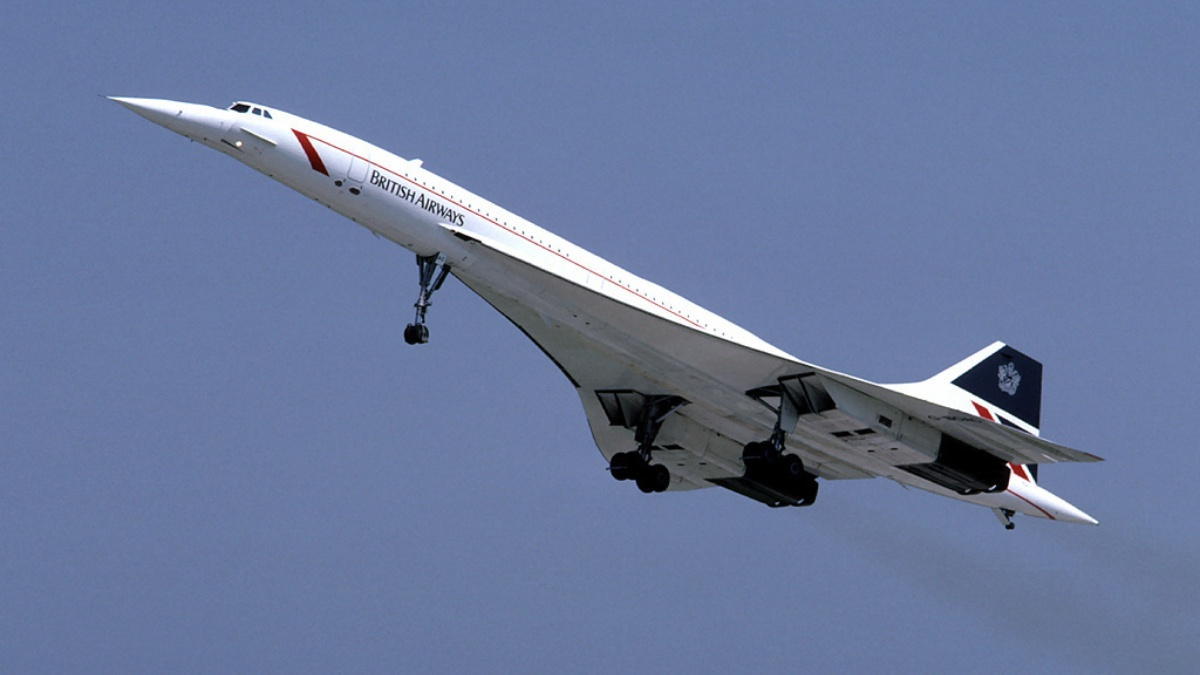"""Concorde has a novel shape, consisting of a needle-shaped nose and a """"delta wing"""""""