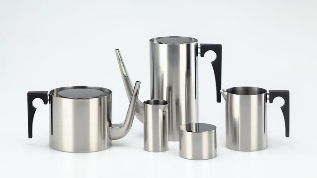 Cylinda Line Teapot by Arne Jacobsen