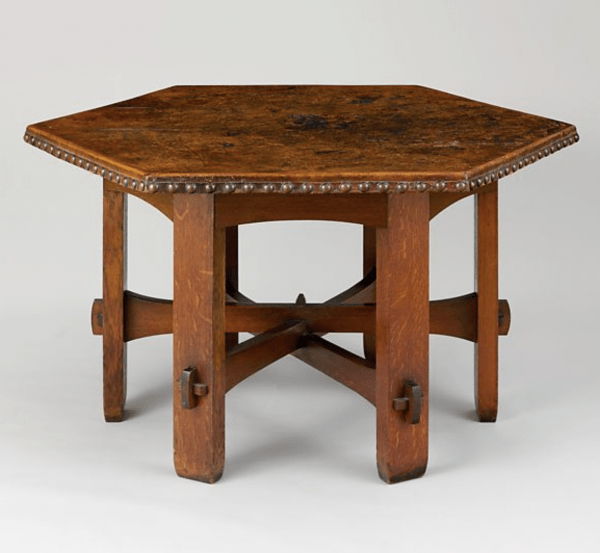 Library Table, 1906 designed by Gustav Stickley