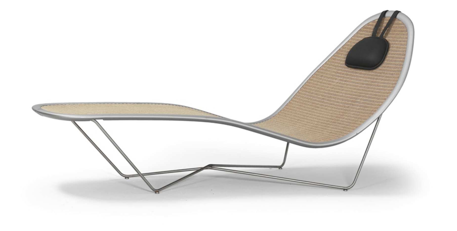Chaise longue (collection for Lloyd Loom) 1988 by Ross Lovegrove