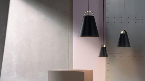 Black hanging lamp by Louis Poulsen