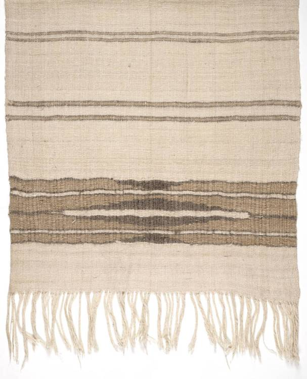 Hand-woven stole designed by Elizabeth Peacock