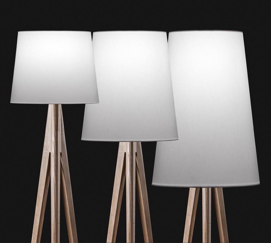 Triana floor lamp from metalarte