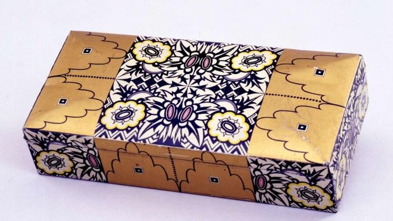 Biscuit Tin designed by Emanuel Josef Margold