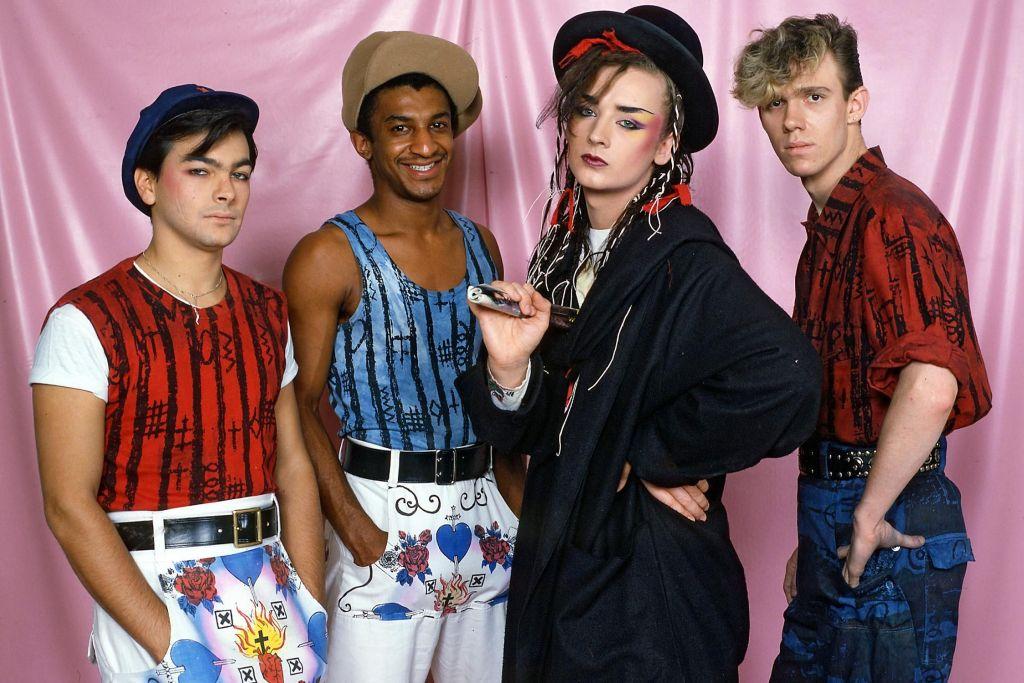Culture Club fashion 80s