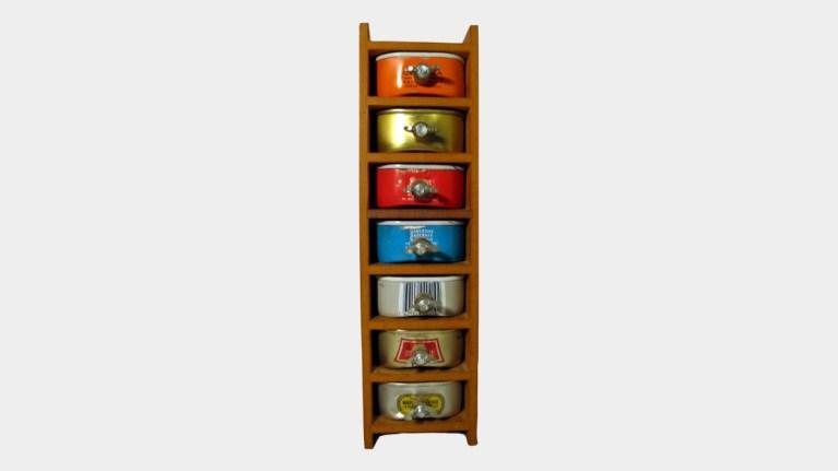 Sardine Collector's Cabinet