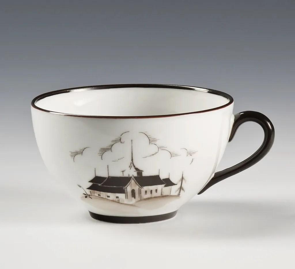 Coffee Cup, 1928 designed by Nora Gulbrandsen