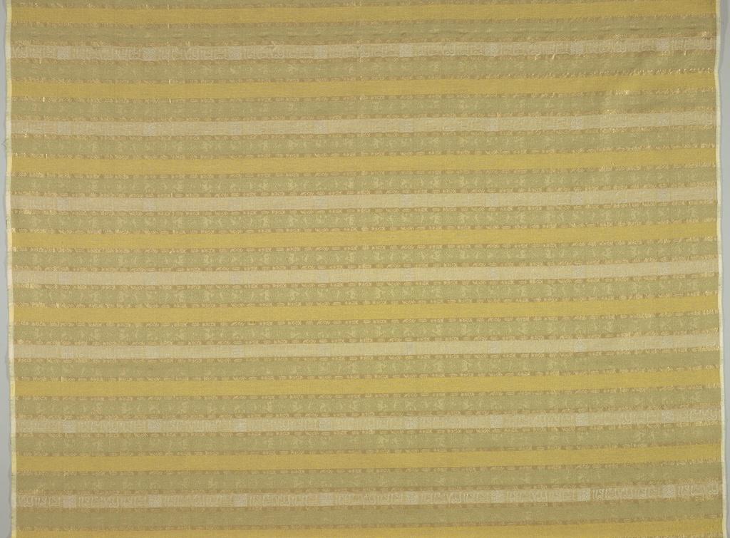 Textile, Arabic Stripe, 1960s designed by Boris Kroll