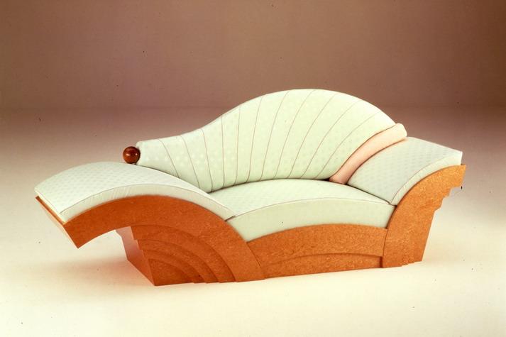 Marilyn Sofa by Hans Hollein