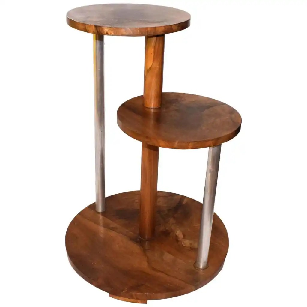 French 1930s Art Deco Modernist Table Gueridon by Michel Dufet featured image