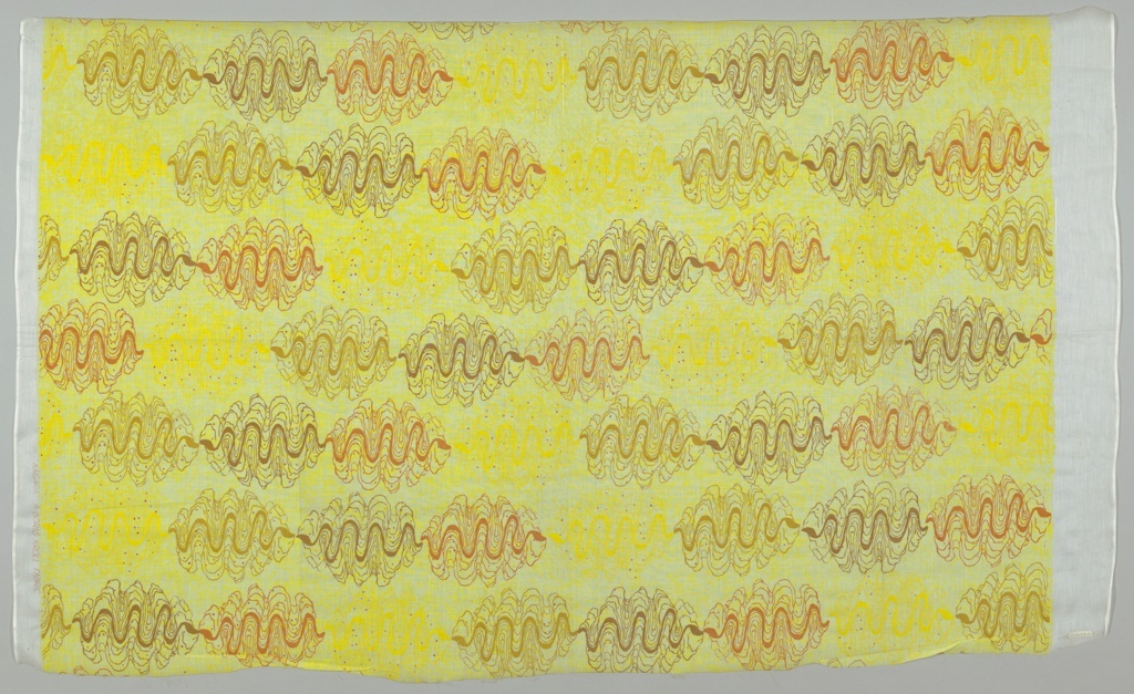 Textile, Kaigara, ca. 1955 by Boris Kroll