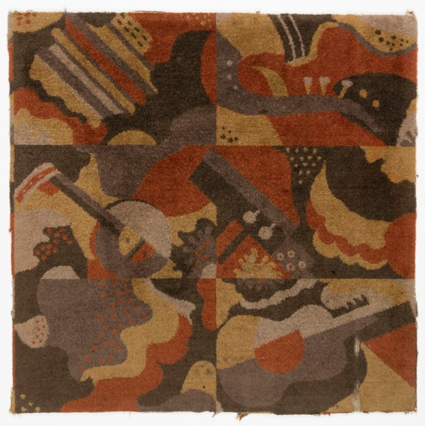 Carpet for Radio City Music Hall by Ruth Reeves