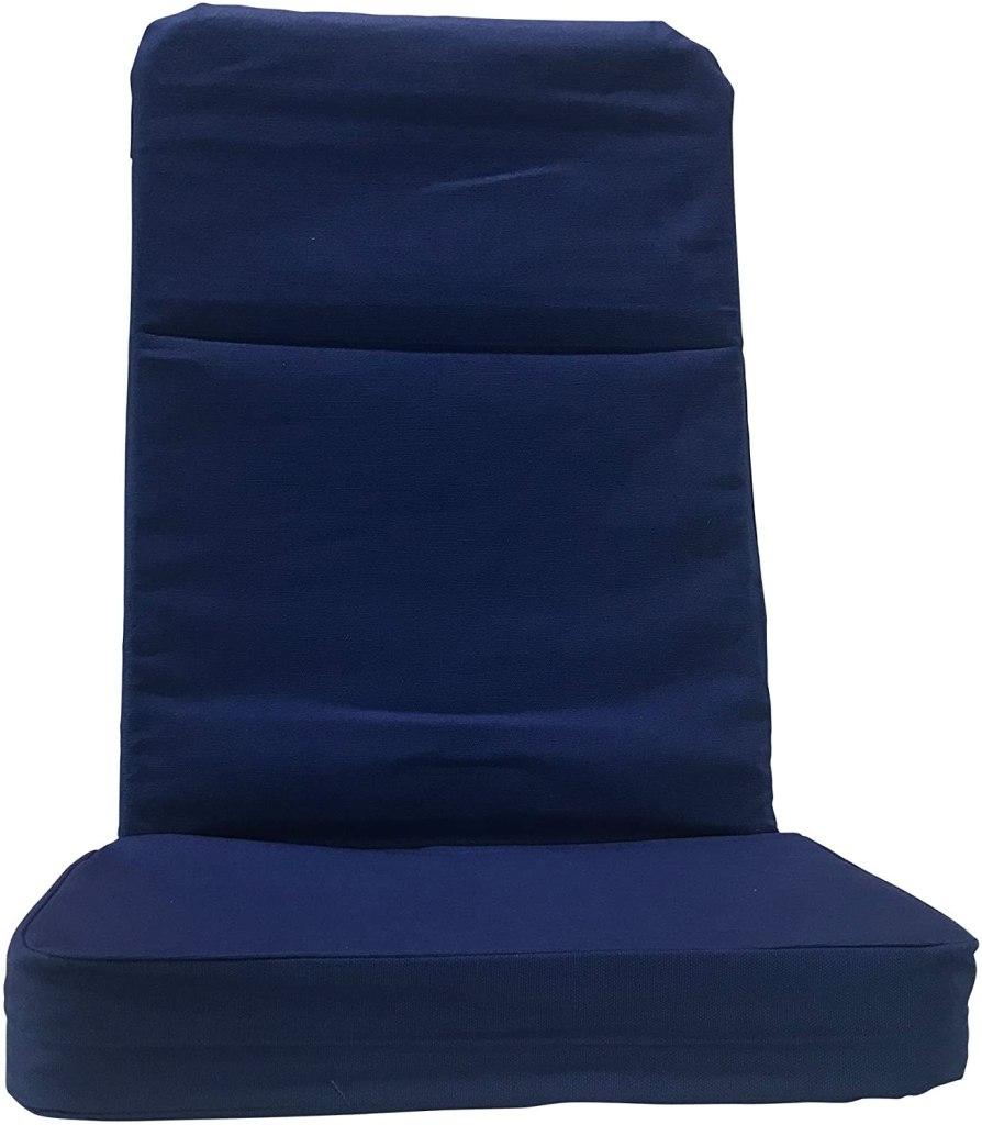 BackJack Floor Chair, Regular, Royal Blue