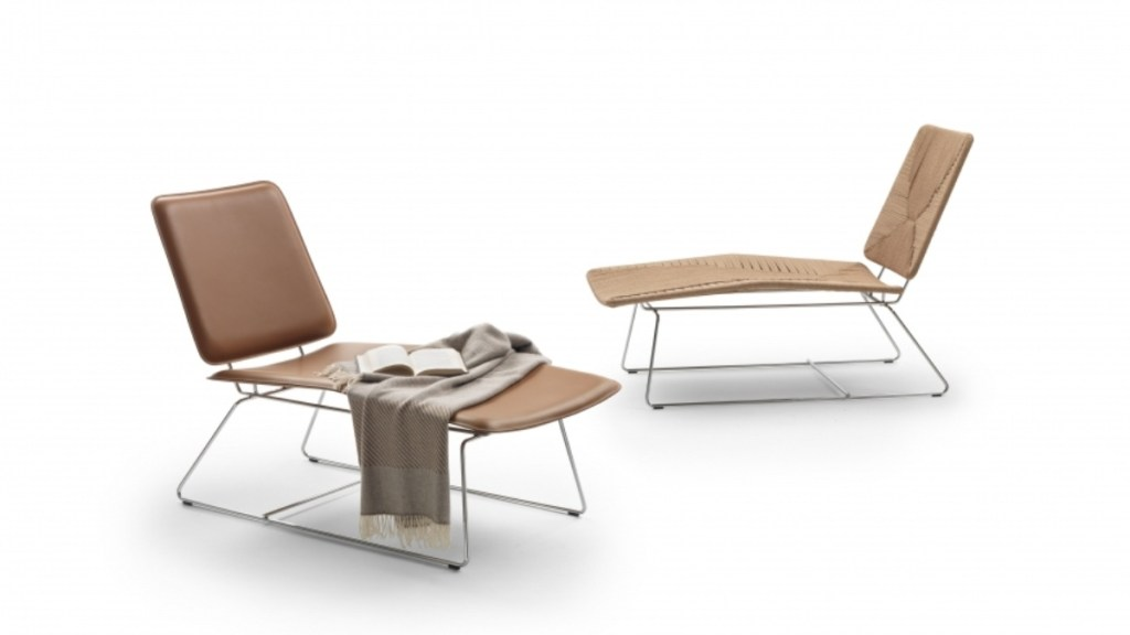 Echoes Chaise Longue by Christophe Pillet