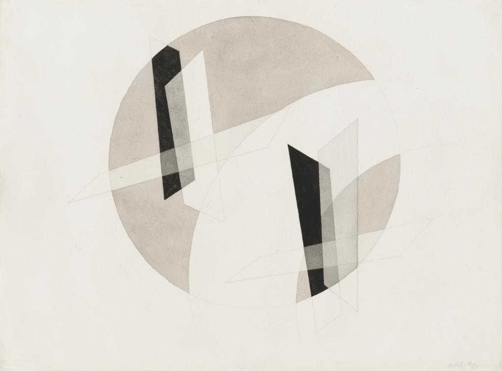 Untitled, 1923 by László Moholy-Nagy (MoMA)