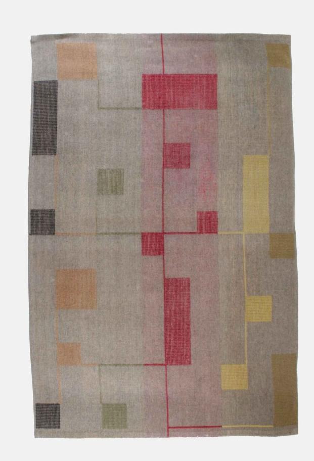 Eastern European carpet by Antonin Kybal, 1950s