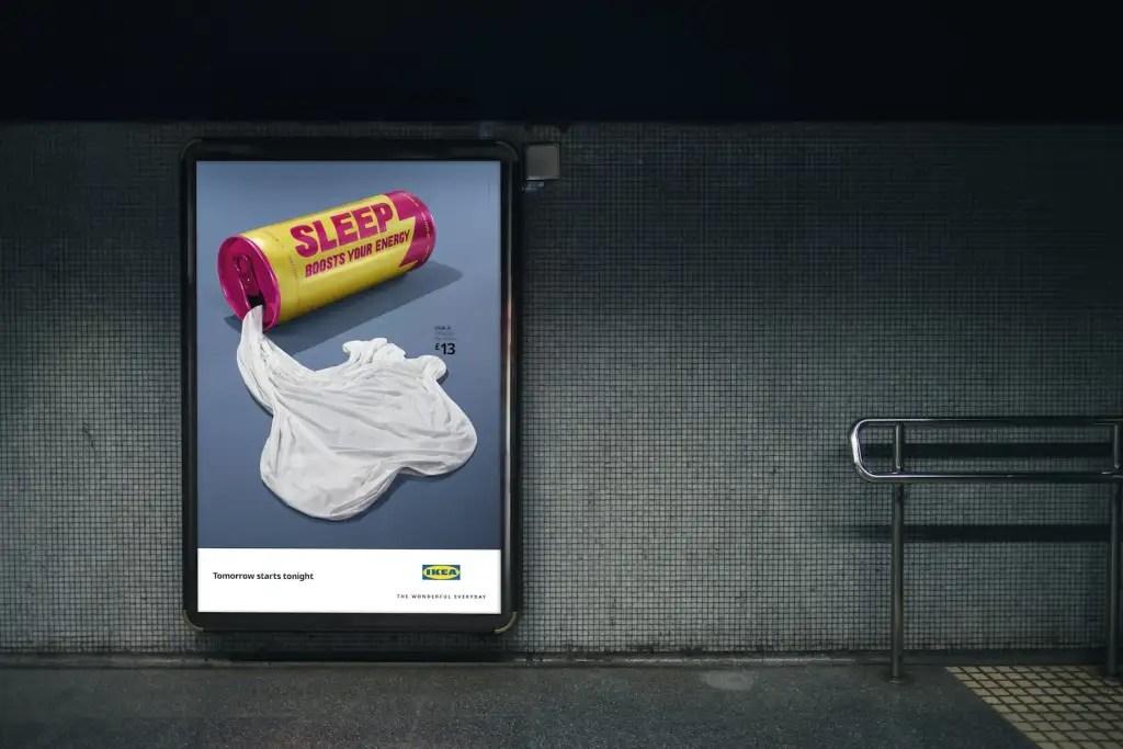 Ikea Sleep Campaign Posters