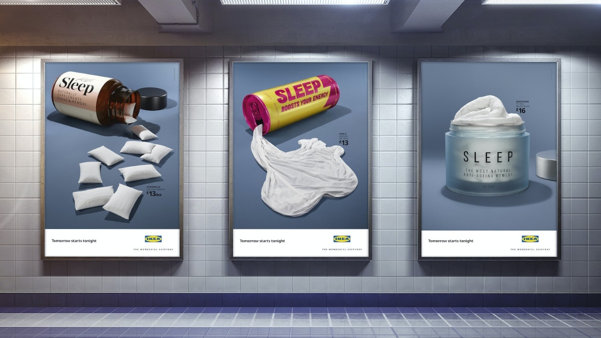 iKeas Sleep Campaign Poster Featured Image