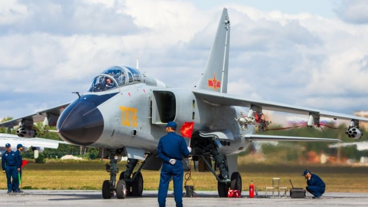 Upgraded JH-7 fighter-bomber in service with PLAAF