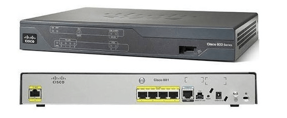 Basic Router Configuration (Cisco 800M Series)