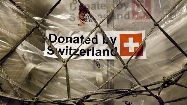 L'aide étrangère de la Suisse donne l'exemple à l'échelle mondiale