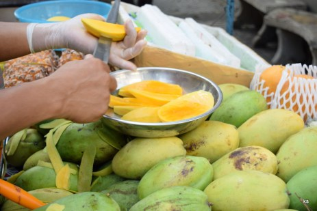 local mangoes - must try