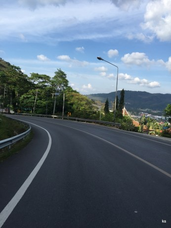 the lovely roads of Phuket