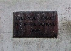 Tobberoe National School Co. Galway - Female Entrance