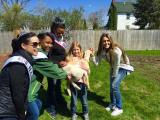 Fairdale, Illinois family was able to save the pet goat.