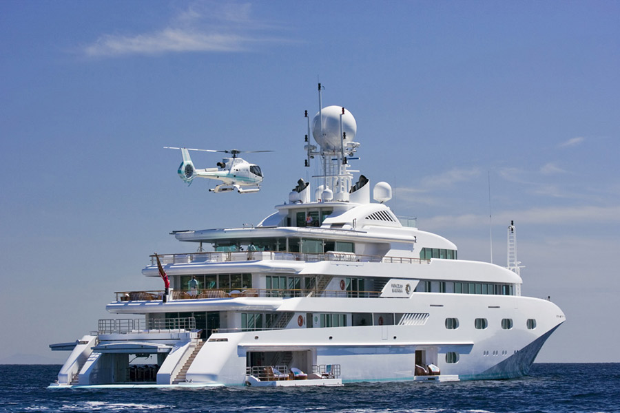 Mega Yacht For Charter Pegasus V Endeavor Global Group