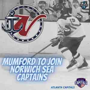 Mumford to join Norwich Sea Captains