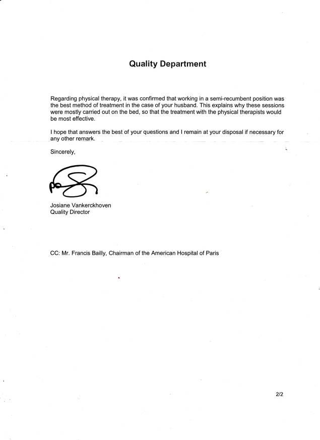 American Hospital letter0001