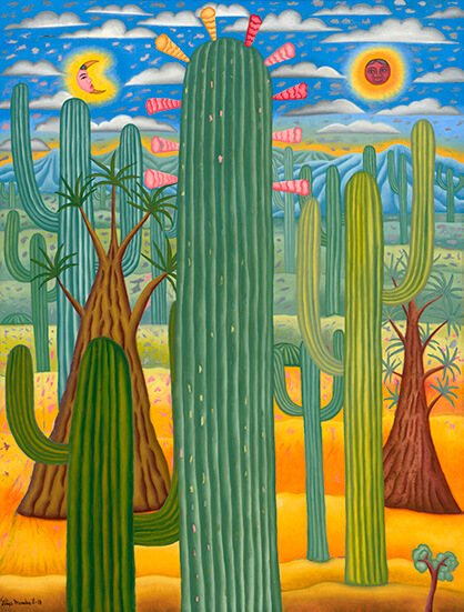 Felipe Morales_Cactus y sotolines_Arte_Oaxaca