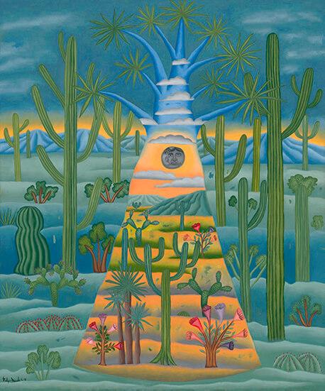 Felipe de Jesús Morales_Paisaje de la Biósfera_Arte_Oaxaca_