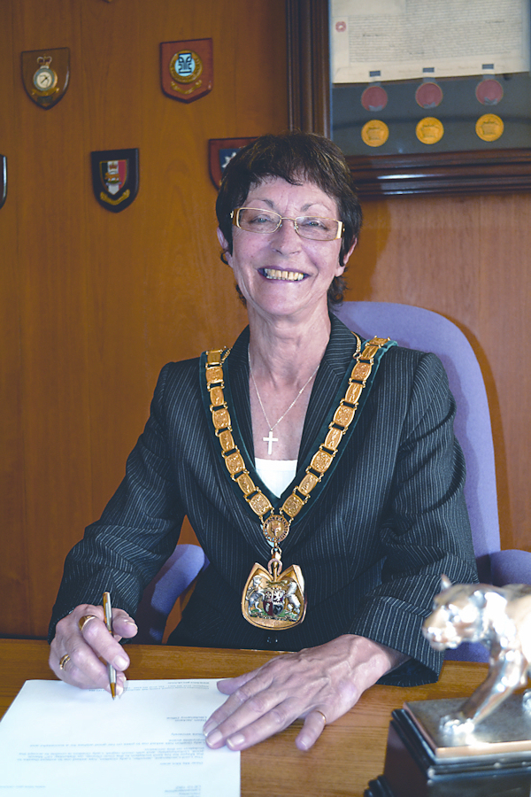 Cllr Jackie Dickinson - Chairman Leicestershire County Council