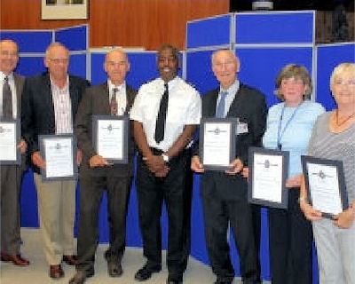 Blaby police volunteers
