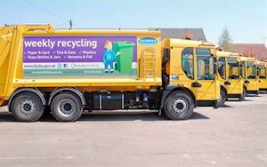 waste recycle collection wagon