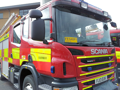 scania fire tender