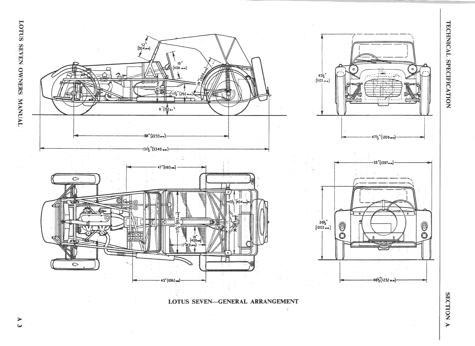 Lotus Mechanical Drawing Cad
