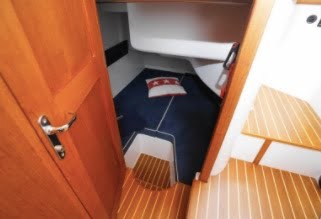 Nord Start 31 second cabin