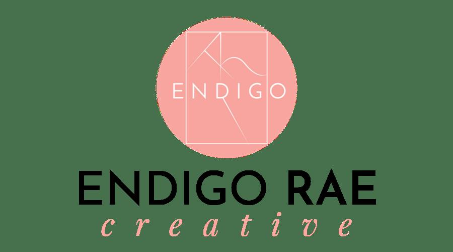 Endigo Rae Creative Logo 2019 vertical