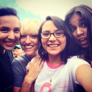 These girls are just so stupid adorable! Ginna, me, Karlita, & Flo!